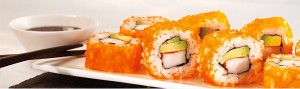 Lichtenberg Roll California Sushi